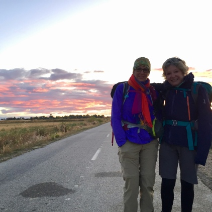 Perry, 73 years old Canadian, walks with energy to complete the Camino to santiago