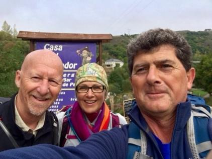 Experienced traveler on the Camino