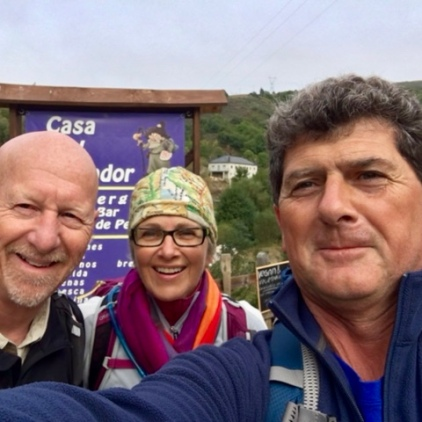 Experienced traveler on the Camino